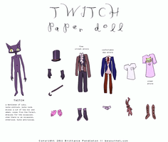 TWITCH - paper doll by beyourpet