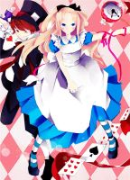 alice in wonderland by nikakeikoku