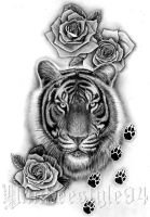 Tiger Tattoo by Yankeestyle94