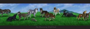 The Moonsong Pack by MoonsongWolf