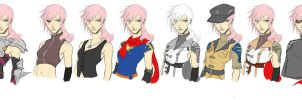 Lightning Outfits by utenafangirl