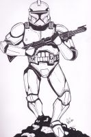 clone trooper by petethefreak