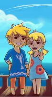 Outset Siblings by ecochic123