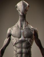 Zbrush Creature Design  by Artmike04