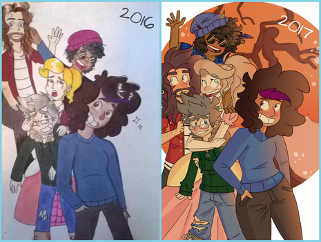 These Guys Re-Draw by ScribbleCate