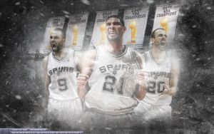Spurs On a Mission by Sanoinoi
