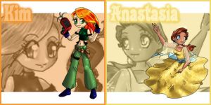 Kim and Anastasia Patches by Street-Angel