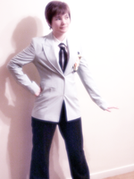 Haruhi: Front Pose by OuranHighHostClubUK