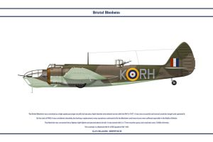 Blenheim GB 88Sqn by WS-Clave