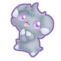 Espurr by Clinkorz