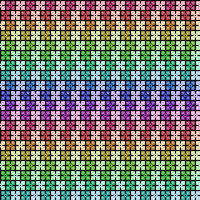 Colorful Border Pattern by Humble-Novice