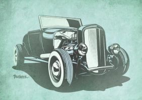 Hot Rod - Traditional by PachecoKustom