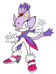 Blaze the Cat by Waito-chan