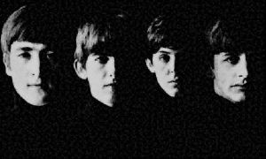 Beatles photo mosaic by whendt