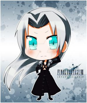 Sephiroth by cat-doodle