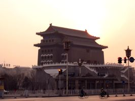 QianMen archery tower by HoZhuangShi