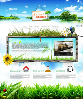 Animal Shelter - Website Design by Crazy-Trip