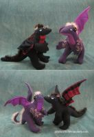 Welcome to Night Vale Stuffed Dragons by Skylanth