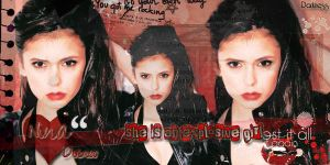 Blend Nina Dobrev by AmaiiaEditions