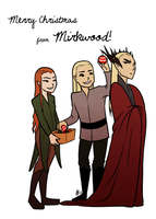 Christmas in Mirkwood by FeatherFactory