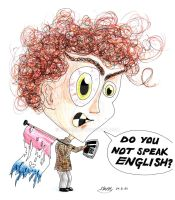 DO YOU NOT SPEAK ENGLISH? by Frazzer