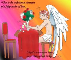 Cupid... alone. by leakymuffin