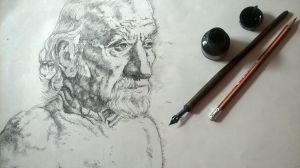 Work Old Man Detail1 by Vlados7