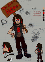 Niccolo Flores Ref Sheet by Achird