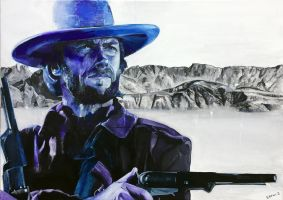 CLINT EASTWOOD by sefibrahim