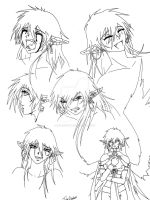 Faces of Shinrei by shinsengumi77