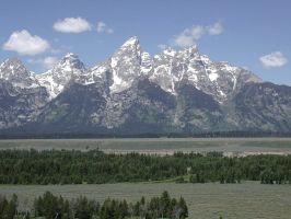 Grand Tetons by darkhorse11