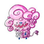 Monster of the Day #767 Fluffy Sheep Monster by jurries21