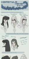 Hairmeme - altair-ezio-shiryu by hiddenmuse