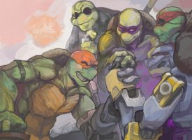 TMNT-IF WE by flyYZ