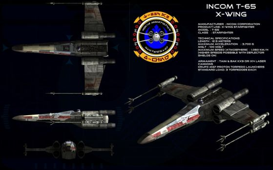 X-wing ortho [update 2] by unusualsuspex