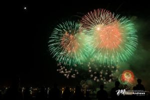 2014 July 4th Fireworks by Milton-Andrews