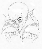 Megamind Pen and Ink by VTWC