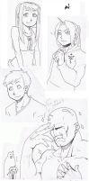 More FMA doodles by Socij