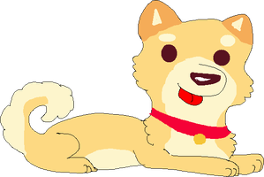 Shibe page doll FREE TO USE by iicey-frosty