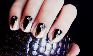 Glamour Claws Nail Art Tutorial by RubyReminiscence
