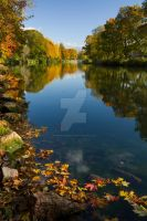 Fall colors at the canal by magnusandersson