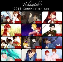 2013 Summary of Art by Tishawish