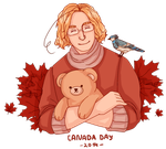 Hetalia | Canada Day 2014 by Lazorite
