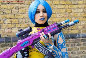 Borderlands 2 - Maya The Siren by TPJerematic