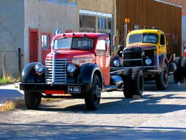 Old Trucks HDR by michaelgoldthriteart