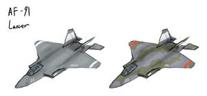 Lancer Air-Superiority Fighter by Csp499