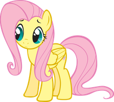 Fluttershy Anime Colored by Blue-Blaze999