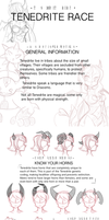 Tenedrite Race (101 Knights) by crab-pinches