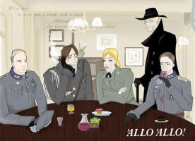 'Allo 'Allo- the Germans by ASaltyBanana