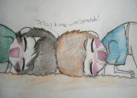Snail time with Smosh by huey4ever